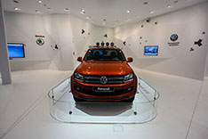 Pavillon Audi VW Skoda in Sochi 1