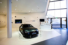 Pavillon Audi VW Skoda in Sochi 2