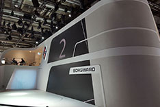 BORGWARD Messestand